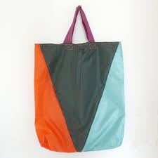 Create a Reusable Bag by Broken Umbrellas