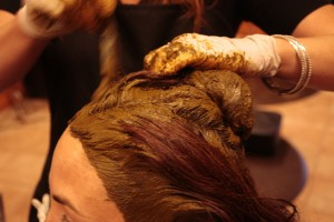 Henna with lemon juice for Soft and Dandruff free Hair