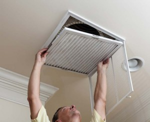 Change the Blower Filter in home AC
