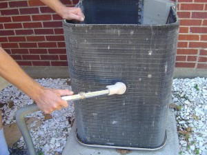 Cleaning Coil Fins