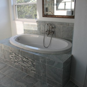bathtub faucet leak