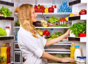 Let Cool before Putting in Fridge Food and Milk-