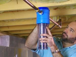 Repair water filter