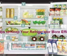 Tips to Keep Your Refrigerator More Efficiently!